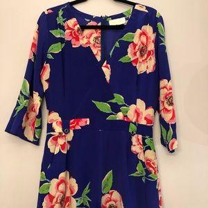 Yumi Kim Liz Silk Floral Romper, Size M